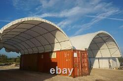 SHIPPING CONTAINER ROOF 33X40x12 KIT BUILDING CONEX BOX SHELTER CANOPY OVERSEAS