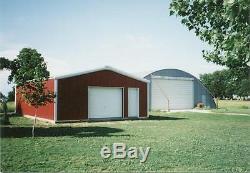 SIMPSON Steel Building 24x24x9 Garage Storage Shop Kit Metal Building