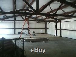 SIMPSON Steel Building 30x50 Garage Storage Kit Shop Metal Building