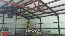 SIMPSON Steel Building 40x50x14 Garage Storage Shop Metal Building Kit