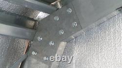 STEEL INSULATED 6-CAR GARAGE METAL BUILDING Shop KIT