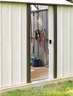 Single Car Garage Building Metal Galvanized Steel Shed Utility Storage 12' X 24