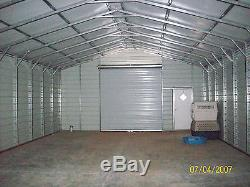 Steel 2 Car Garage Carport Workshop 24x31x9 Metal Building FREE DELIVERY SETUP