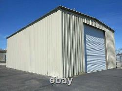 Steel 35x50x20 Metal Building Shed Auto Lift Workshop Garage Kit Shop