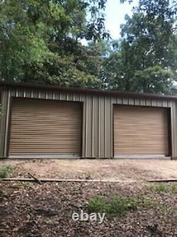 Steel Building 20x20 SIMPSON Metal Building Kit Garage Workshop