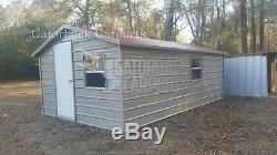 Steel Building 24x46 Metal Building Kit Garage Workshop Barn Structure Prefab