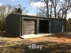 Steel Building 30x50 Metal Building Kit Garage Workshop