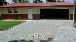 Steel Building 36x60 SIMPSON Metal Building Kit Garage Workshop Barn