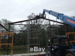 Steel Building 40x40x16 SIMPSON Metal Building Kit Garage Workshop Barn Storage