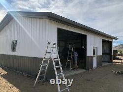 Steel Building 40x50 SIMPSON Metal Building Kit Garage Workshop Barn Structure