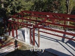 Steel Building 40x60 SIMPSON Metal Building Kit Garage Workshop Prefab Building