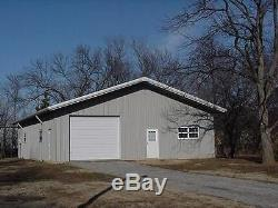 Steel Building 40x60x16 Metal Prefab Building Kit Structure Barn