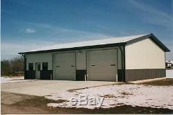 Steel Building 50x80x12 SIMPSON garage storage shop metal building