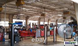 Steel Construction 60x125x14 Prefab Metal Commercial Building Ibeam Frame Design