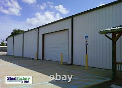 Steel Factory Mfg 20x30x9 Galvanized Metal Storage Steel Garage Building Kit