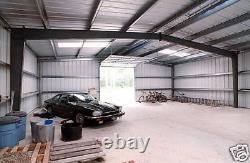 Steel Factory Mfg 40x60x15 Metal Frame Ibeam Workshop Storage Garage Building