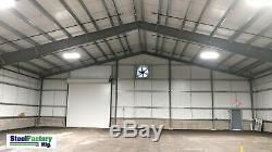 Steel Factory Mfg 50x70x16 Metal Frame I-beam Workshop Storage Garage Building