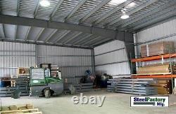 Steel Factory Mfg 50x75x14 Metal Frame I-beam Workshop Storage Garage Building
