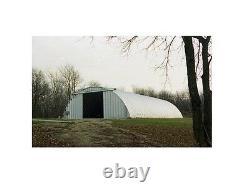 Steel Factory Mfg Q60x65x20 Metal Prefab Arch Quonset Hay Storage Building Kit