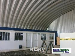 Steel Factory S40x90x16 Metal Storage Building Pole Barn Alternative Prefab Kit