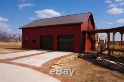 Steel Garage Workshop/Building Kit 24'x36'x12' Excel Metal Building Systems Inc