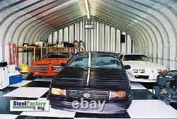 Steel Residential 30x40x15 Hotrod Car Lift Garage Prefab Metal Shop Building Kit