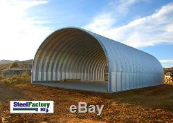 Steel S20x30x14 Made in USA Prefab Metal Arch Storage Building Garage Barn Kit