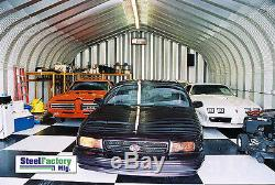 20x25x12 Acier Résidentiel En Métal Garage Deux Voiture De Stockage De Construction Diy Usine Kit