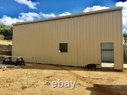 20x42x16 Bâtiment En Acier Simpson Rv Ou Camper Garage Rangement Tel Qu'illustré Sur L'image