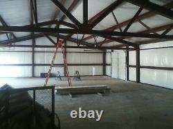 21x30x10 Kit De Construction En Acier Simpson Garage Atelier Prefab Structure