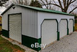 24x35x10 Métal Garage, Entrepôt Del Libre. Et Installation! (les Prix Varient)