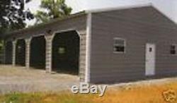 24x50 Métal Garage, Bâtiment De Stockage Livraison Gratuite Et Installation! (les Prix Varient)