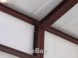 30'x30'x12 'kit De Construction Garage / Atelier En Acier Excel Metal Building Systems Inc