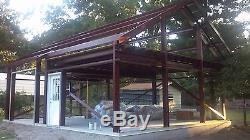33'x45'x12 'kit De Construction Pour Garage / Atelier En Acier Excel Metal Building Systems Inc