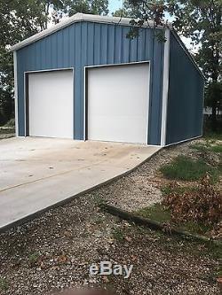 33'x45'x14' Acier Garage / Atelier De Construction Kit Excel Métal Building Systems Inc