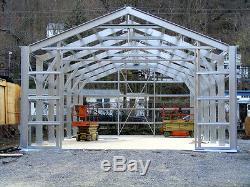 38 X 60 Isole Acier Garage Magasin De Construction Métalliques Kit