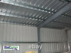 40x75x16 Usine D'acier Cadre Métallique Ibeam Stockage Garage Auto Construction De Réparation
