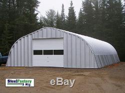Acier 30x40x14 Métal Garage Bâtiment Général Stockage Fabricant Vente Liquidation