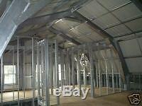 Acier Métal Accueil Gambrel Shell Building Kit, 3500 Pieds Carrés
