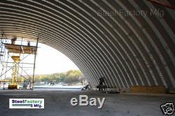Acier Usine Mfg Q60x100x20 Métal Prefab Arche Quonset Hut Stockage Kit De Construction