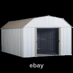 Arrow Storage Products Lexington Steel Storage Shed, 10 Pi X 14 Pi Coquille