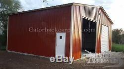 Atelier De Garage En Acier 2 Voitures Garage 24x26x9 Metal Building Livraison Gratuite