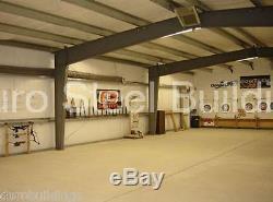 Atelier De Stockage De Garage En Acier En Acier Durobeam 40x66x16 Structures De Bâtiment Direct