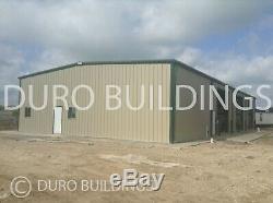 Atelier De Stockage De Kits De Garage De Bricolage De Bâtiment En Acier De Durobeam Steel 50x80x12 En Métal