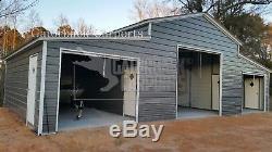 Bâti En Acier Du Bâtiment 24x46 De Kit De Construction En Métal De Garage Préfabriqué De Structure