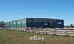 Bâti En Acier Durobeam 100x100 À Ossature Métallique Pour Centre Équestre D'équitation Claire Direct