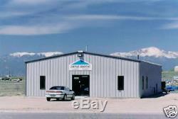 Bâtiment De Garage Ibeam En Acier Préfabriqué En Acier 30x50x12