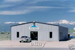 Bâtiment De Garage Ibeam En Acier Préfabriqué En Acier 30x50x12 Avec Grange En Métal