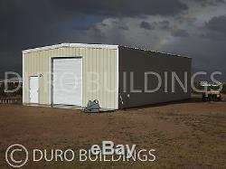 Bâtiment Durobeam Acier 40'x50'x12 Métal I-beam Kit Cadre Garage Atelier Direct
