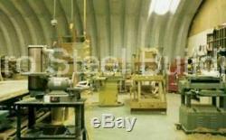 Bâtiment Durospan Acier 27x30x13 Métal Quonset Arc Kit Ouvrir Termine Factory Direct
